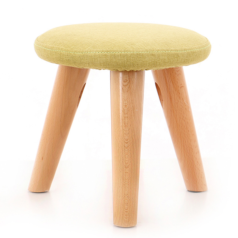 Taboret Small Stool Creative Wooden Sofa Stool Tea Table