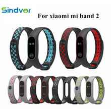 Mi Band 2 Strap Sport miband Bracelet For xiaomi mi band Colorful Silicone smart watch bracelet accessories