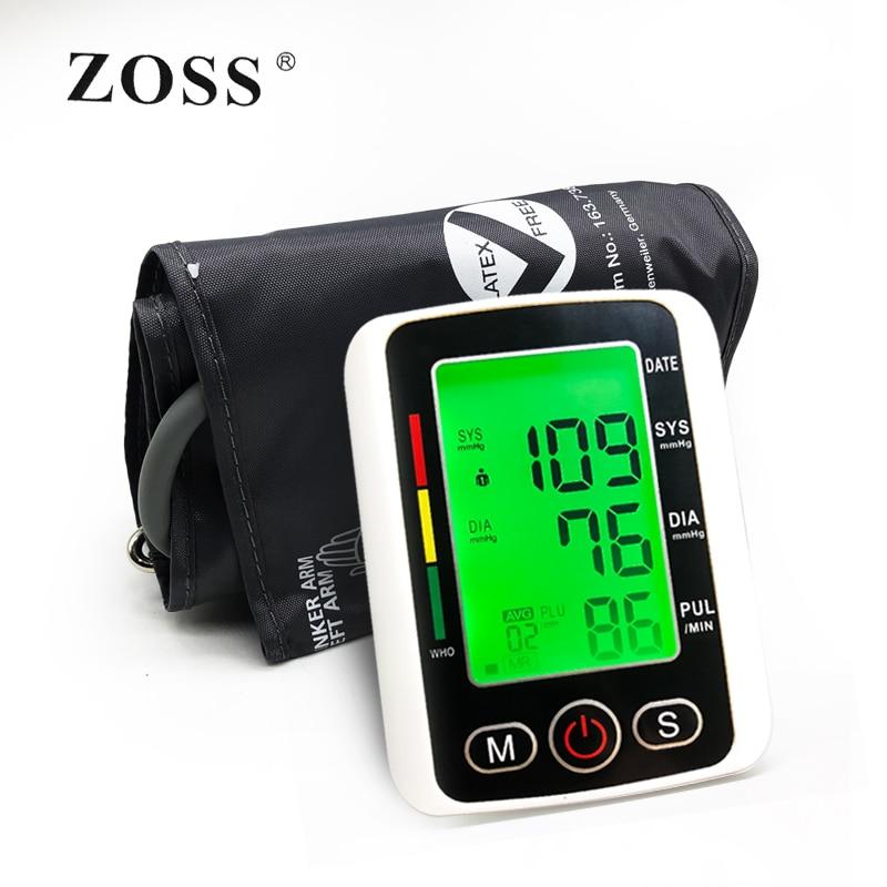 Home Health Care Russian Voice Digital Lcd Upper Arm Blood Pressure Monitor Heart Beat Meter Machine Tonometer Heart Rate Pulse