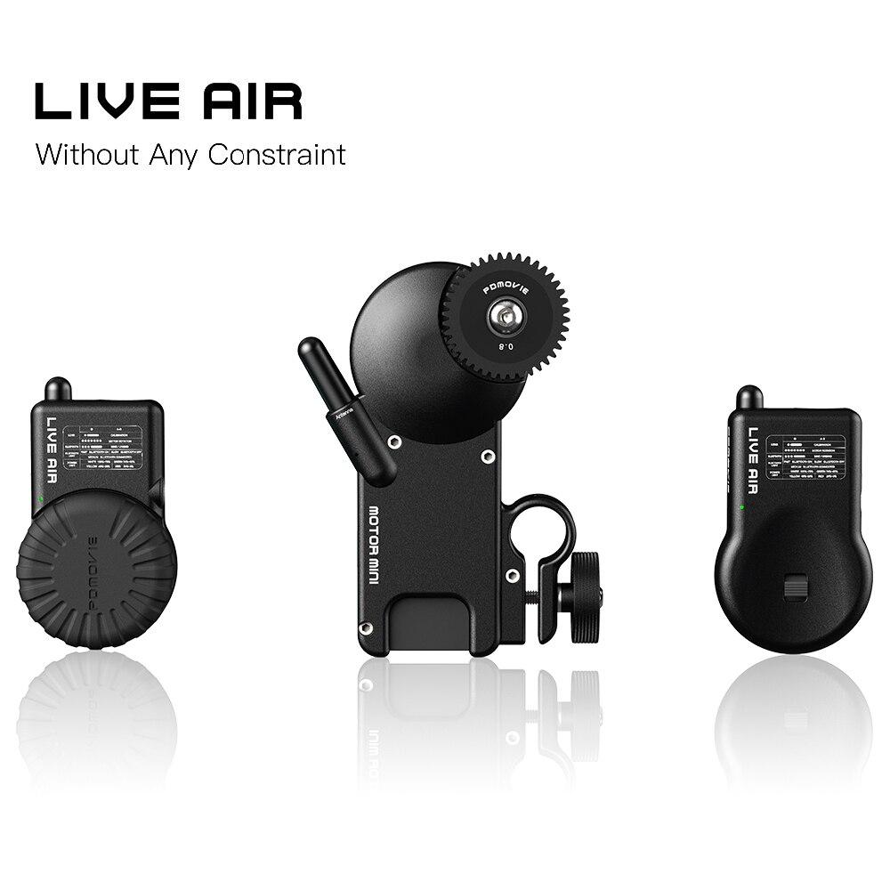PDMOVIE EN DIRECT AIR Bluetooth Sans Fil Système Follow Focus Pour Zhiyun Grue 2 DJI RoninS RONINS AK2000 AK4000 Zhiyun Crane2
