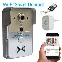 Wireless Wifiวิดีโอประตูโทรศัพท์PIR Night Visionปลุก3กรัม/4กรัมHDกล้องระฆังอินเตอร์คอมสำหรับiPadมาร์ทโฟนการตรว...