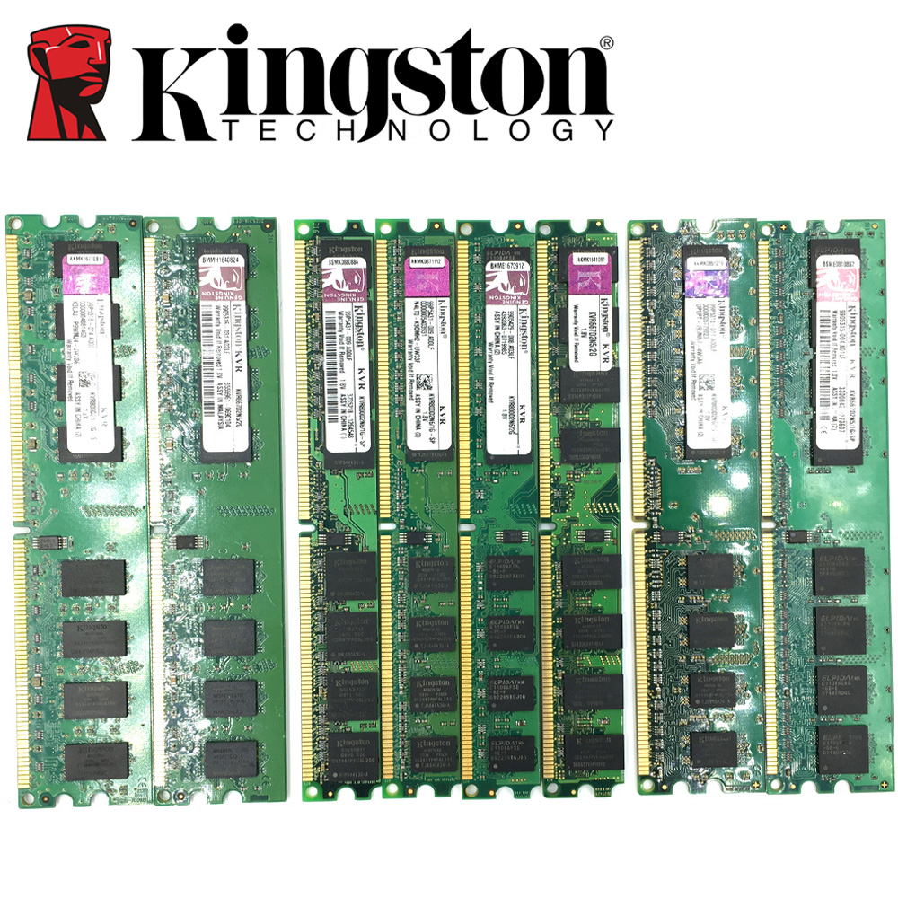 Kingston Desktop Pc Memory Ram Memoria Module Ddr2 800 Pc2 6400 1gb Memori 2gb 4gb2pcs2gb Compatible 800mhz 667mhz Ddr 2 In Rams From Computer