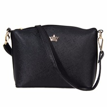 Fashion Women Leather Handbags Imperial Crown Small Shell Bag Women Messenger Bag Ladies Shoulder Crossbody Bag