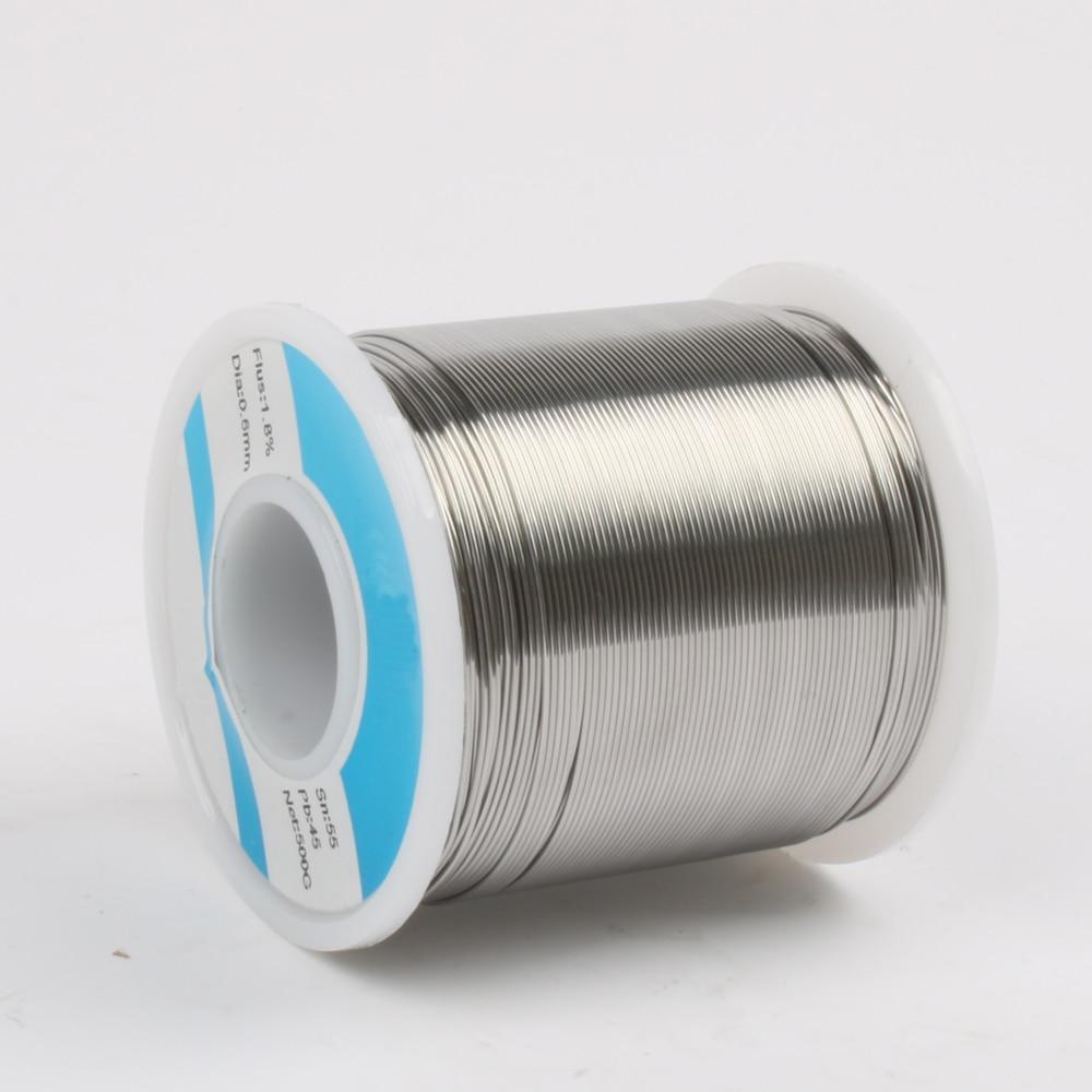 0.6mm 500g Bassa temperatura solder wire rosin pb lega di saldatura a filo