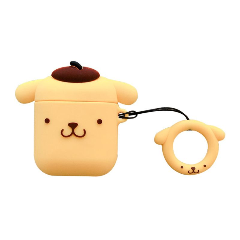 2019 New Fashion Cute Puppy Shockproof Case Skin Soft Silicone Protective Cover for Airpods 1 2 Charging Box in Earphone Accessories from Consumer Electronics