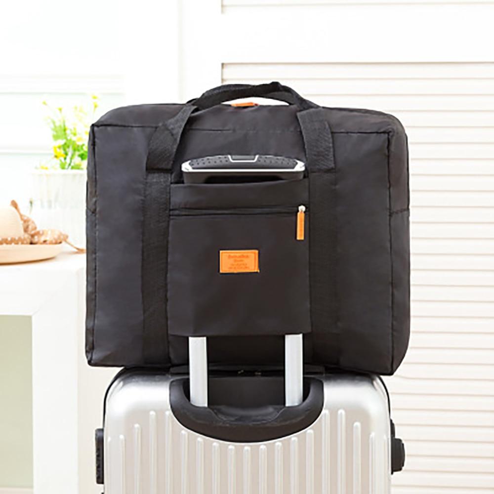6129184b1b17 Папа Чен мода складной мешок унисекс чемодан путешествия женская сумка  дорожная сумка большой ёмкость сумка для