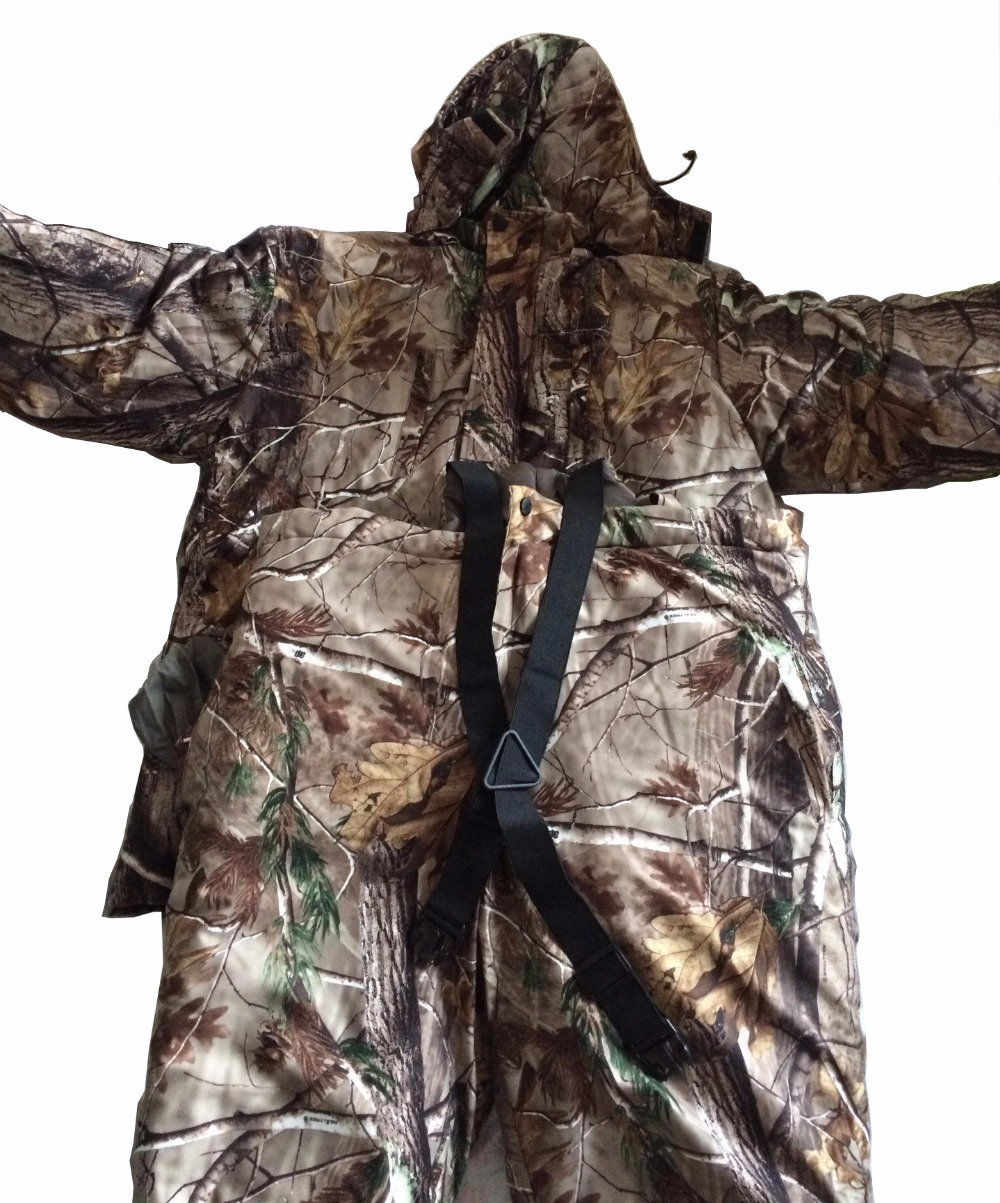 Hunting suit winter camouflage cotton cold warm suit ...