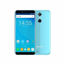 Oukitel C8 5.5″Inch 18:9  Display  Android 7.0 MT6580A Quad Core 3000mAh 2GB RAM+16GB ROM  3G Fingerprint 13MP Camera Cellphone