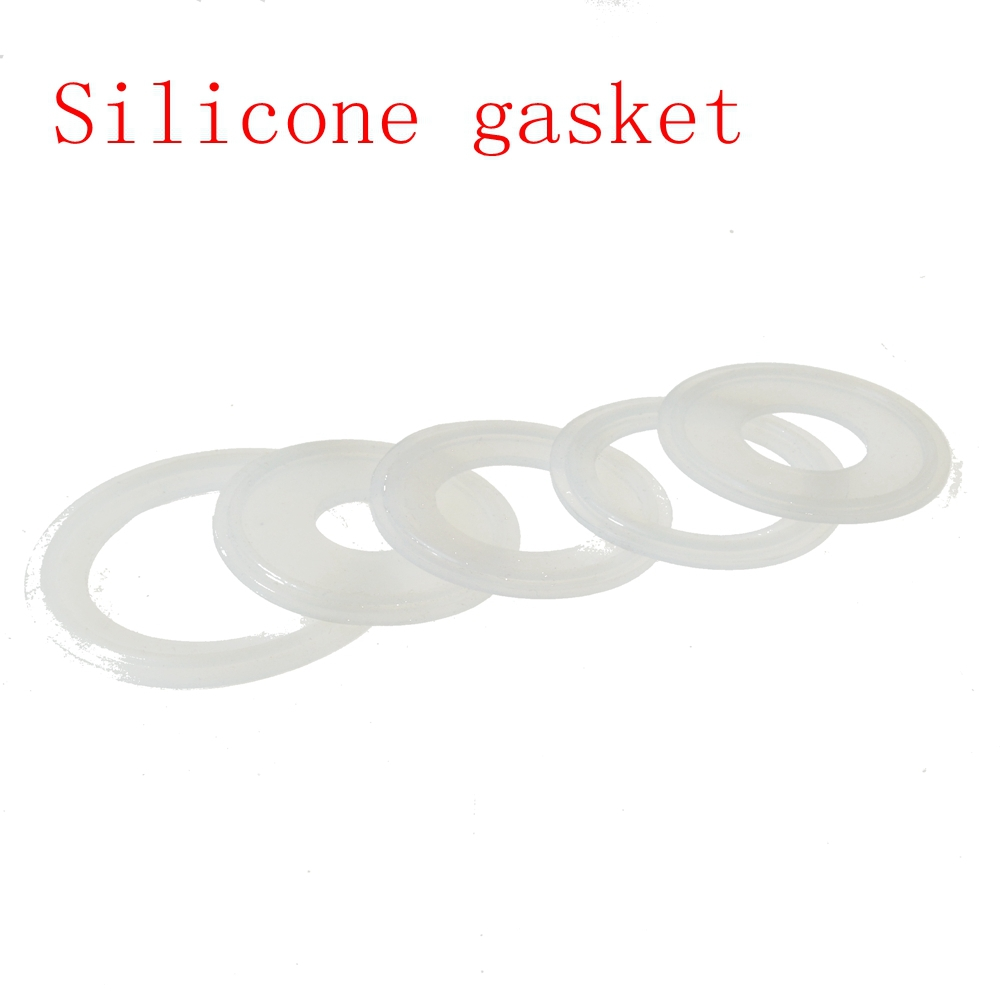 pc sanitary tri clamp silicone sealing gasket  gaskets  home improvement  aliexpress