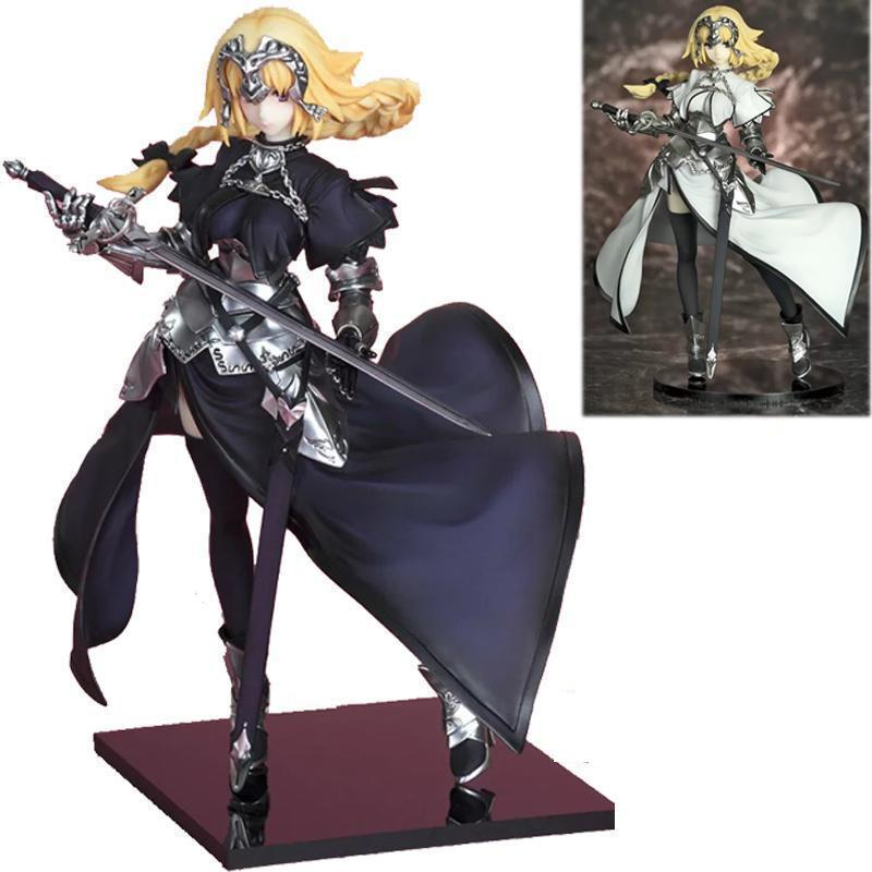 20 cm Fate Stay Night Zero Saber Apocryphe Jeanned'arc Giovanna Arc Q Versione Anime Figures Action Figures Toy Pvc modello fate stay night fate extra red saber pvc figure toy anime collection new