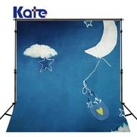 KATE Photography Backdrops 10Ftx10Ft Backdrop Photography Royal Blue Clouds Backdrop Children Background Achtergrond Fotografie