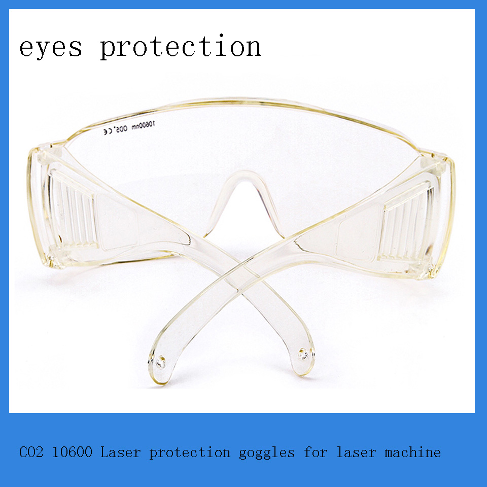 Co2 laser wavelength  10600 nm of  eyes protection goggles for co2 laser engraving and cutting machine economic leetro mpc 6525a 6535 motion controller for co2 laser cutting machine upgrade of 6515