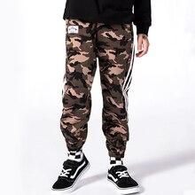 все цены на 5-12 Yrs Boys Pants Spring Autumn Kids Camouflage Trousers Cotton Teenage Boy Camo Trousers Casual Boys Military Cargo Trousers онлайн
