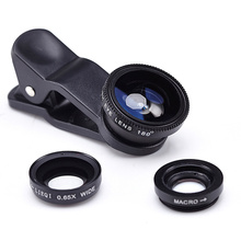 Макро широкоугольный рыбий линзы объектив мобильный глаз камеры xiaomi samsung универсальный
