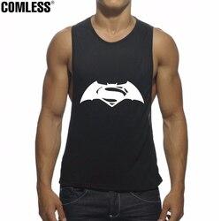 2016 new batman superman combine logo printing tank tops men bodybuilding fitness loose style elastic funny.jpg 250x250