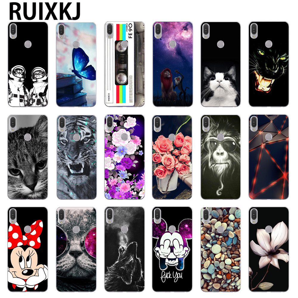 For Asus Zenfone Max Pro M1 ZB601KL Case Silicone Soft TPU Phone Case for Asus Zenfone Max Pro M1 ZB602KL Cover Case Capa funda
