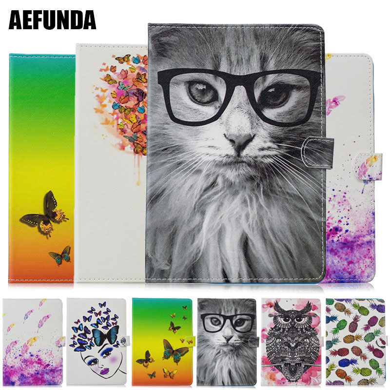 Flip Book Wallet Tablet Case for iPad Pro 10.5-inch 2017 Animal Cat Butterfly Lion Do What You Love Folio Book Wallet Holster image