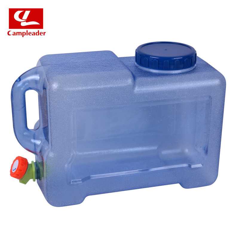 Campleader New Outdoor Camping Car Durable PC Water Bucket Hiking Fishing Picnic Handy Collapsible Water Bottle Container alocs ac z02 outdoor car washing fishing folding pvc bucket water pail yellow 11l