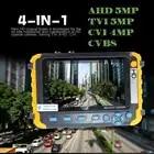 Новый 5 дюймов TFT LCD HD 5MP TVI AHD CVI CVBS Аналоговый тестер камеры безопасности монитор в одном CCTV тестер VGA HDMI вход IV8W - 3