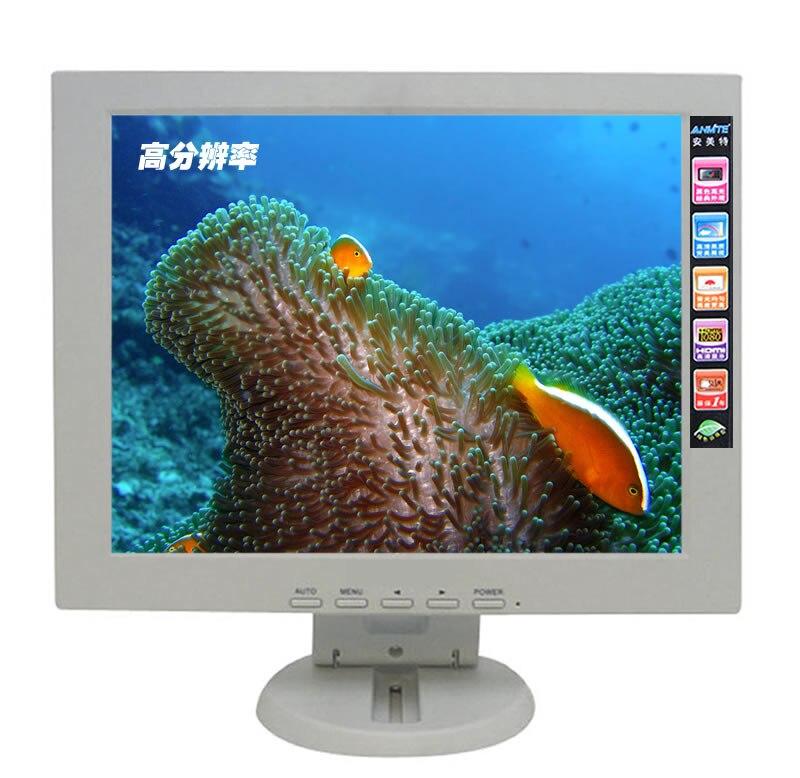 Anmite 12 Lcd écran tactile moniteur LED Pc écran tactile résistif 1024x768 VGA