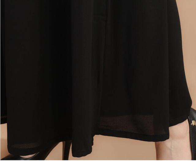 2017 summer wide leg pants female bohemia wide leg pants casual trousers skirt formal loose ol straight pants women