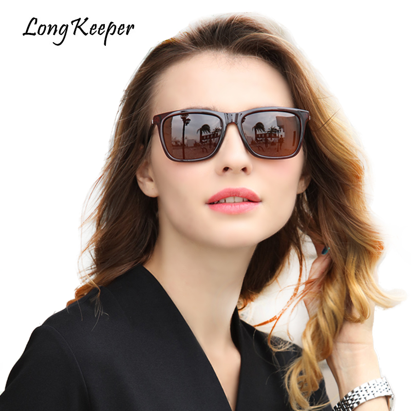 3fdd30fe19f7e LongKeeper Polarized Sunglasses for Men Women High Quality Square Male  Driving Sun Glasses Eyewears 2018 New