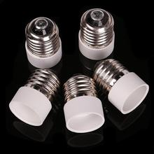 10 Pcs Wholesale 5 Pack E27 to E14 Lamp Light Socket Converter Convertor Bulb Extend Base CFL small Scr(China)