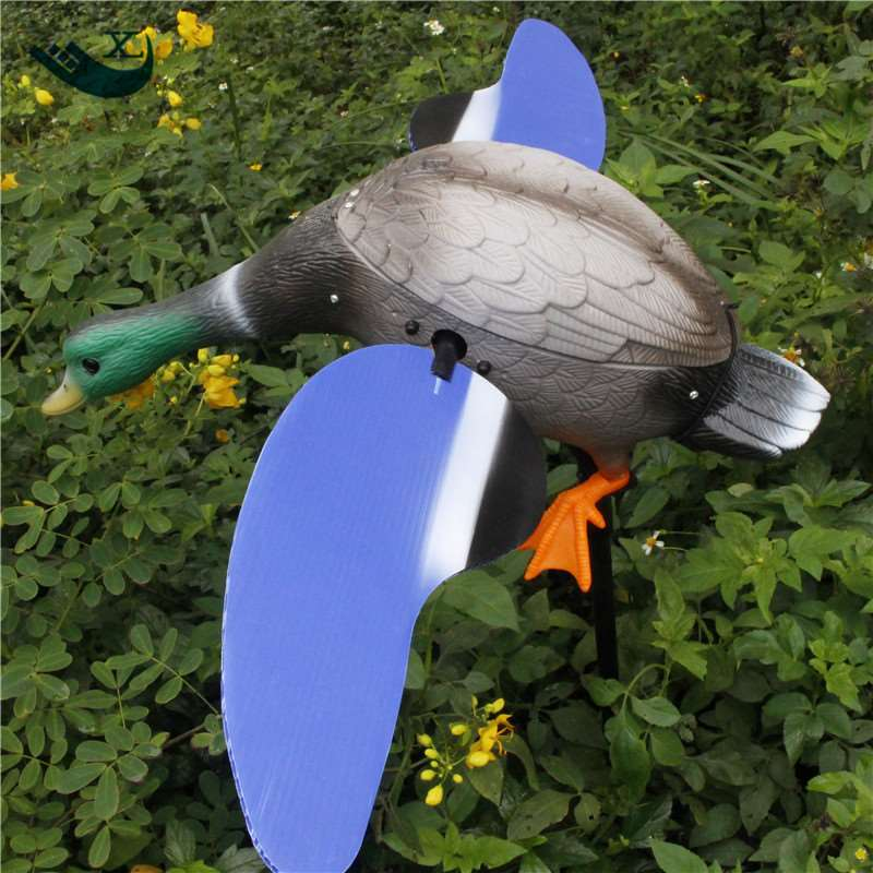Bulgaria Duck Decoy Wholesale Dc 6V Remote Control Pe Plastic Male Duck Decoy With Magnet Spinning Wings From Xilei 2017 xilei ducks decoy electric flying duck decoy duck with remote control with spinning wings