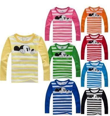 Boys T Shirt Girl Tshirt Children Clothes Toddler T-Shirt Kid Long Sleeve Tops Toddler T shirts Baby Tee Kids Christmas Shirt