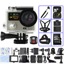 H3 Sport camera Ultra HD 4K 1080P 2 inch 170D Wide Angle Dual Screen H3R Remote Control Action Camcorders