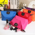 Women Waterproof Cosmetic Woman Makeup Bag Handbag 10colors lady handbag Free Shipping 16601