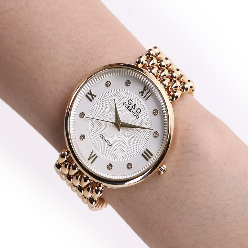 2018 fashion quartz women luxury steel jewelry bracelet wristwatch women female ladies crystal for Celebrity watches female 2018