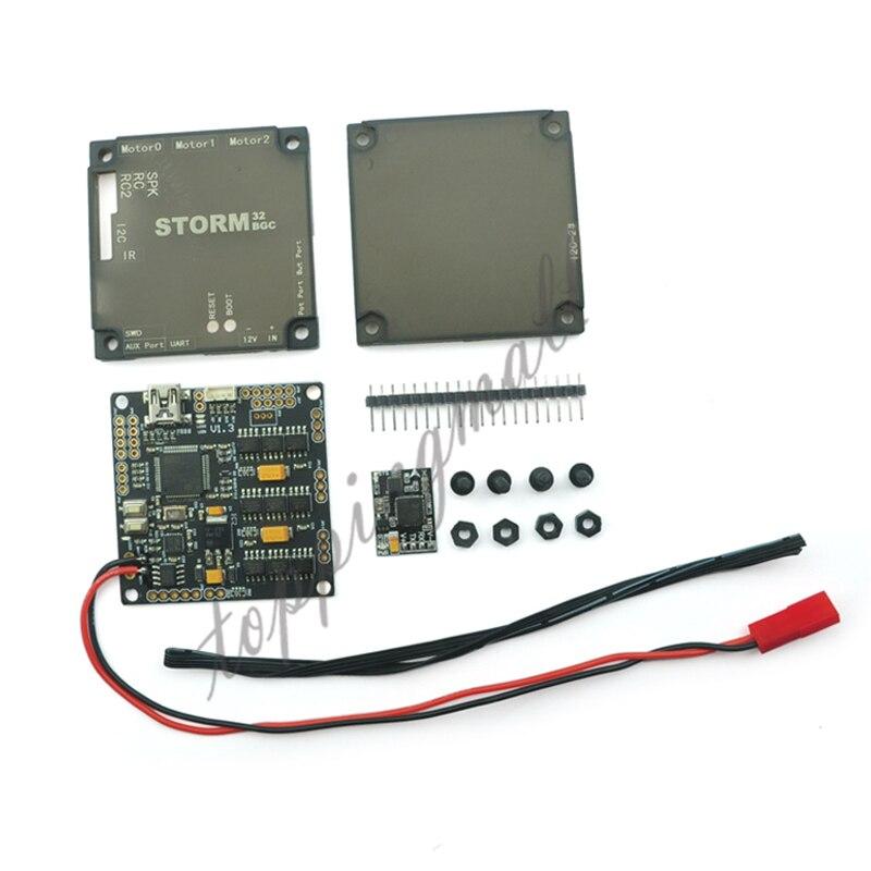 Nouveau Storm32bgcNT/Storm32-BGC NT Brushless Contrôleur avec Port Série IMU Éviter I2C Problème Compatible V1.3 pour FPV Cardan