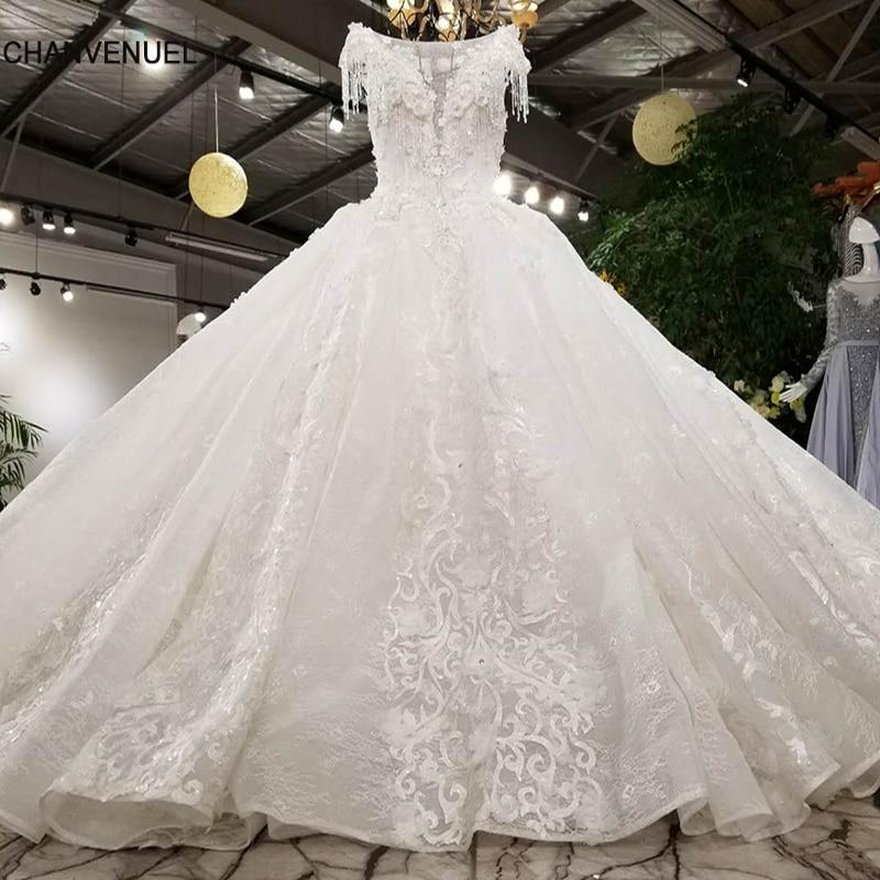 LS00380 lace up luxury wedding dress 2018 sexy ever pretty generous beautiful gowns vestidos de noiva