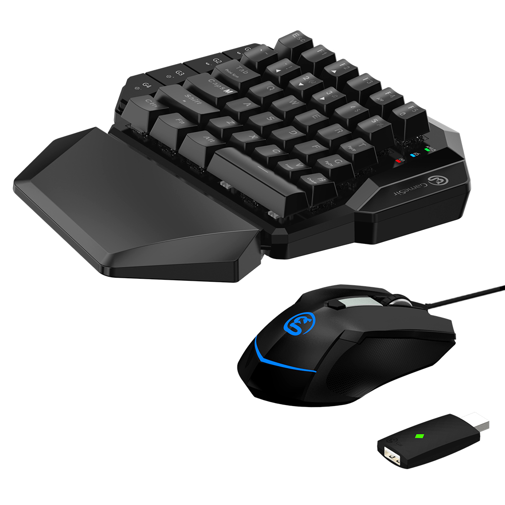 GameSir VX AimSwitch Sans Fil Clavier Réglable DPI Souris Combo Pour Consoles Jouer FPS Jeux Pour PS4/PS3/Xbox un/Commutateur/PC - 4