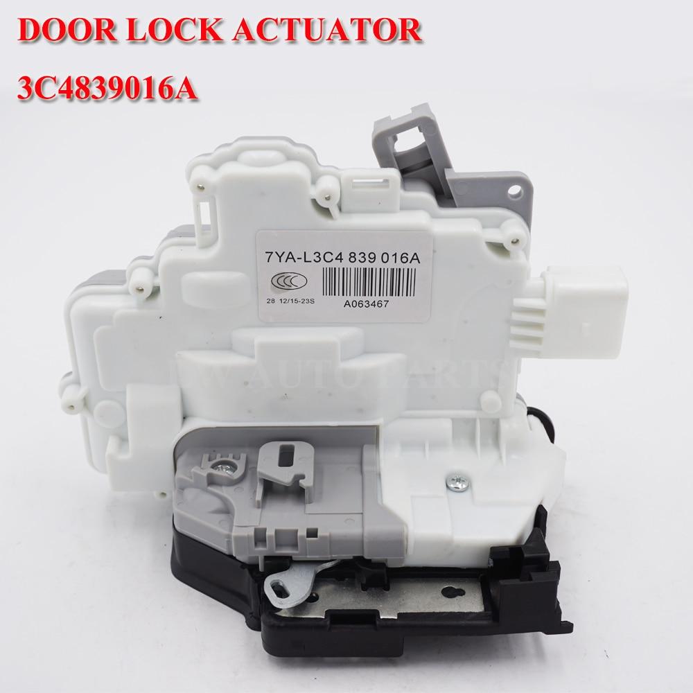 For vw passat Audi q3 q5 q7 A4 B8 b6 skoda Superb SEAT Ibiza rear Right Door Lock ACTUATOR Mechanism 8K0839016 3C4839016A