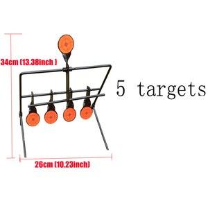 Image 3 - Outdoor Schieten 5/7/9 Reset Doel Ring Paintball Airsoft Bb Lood Schieten Doel Toepassing Doel
