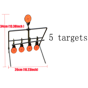 Image 3 - Outdoor Shooting 5/7/9 Reset Target Ring  Paintball AirSoft BB Lead Shooting Target Application Target