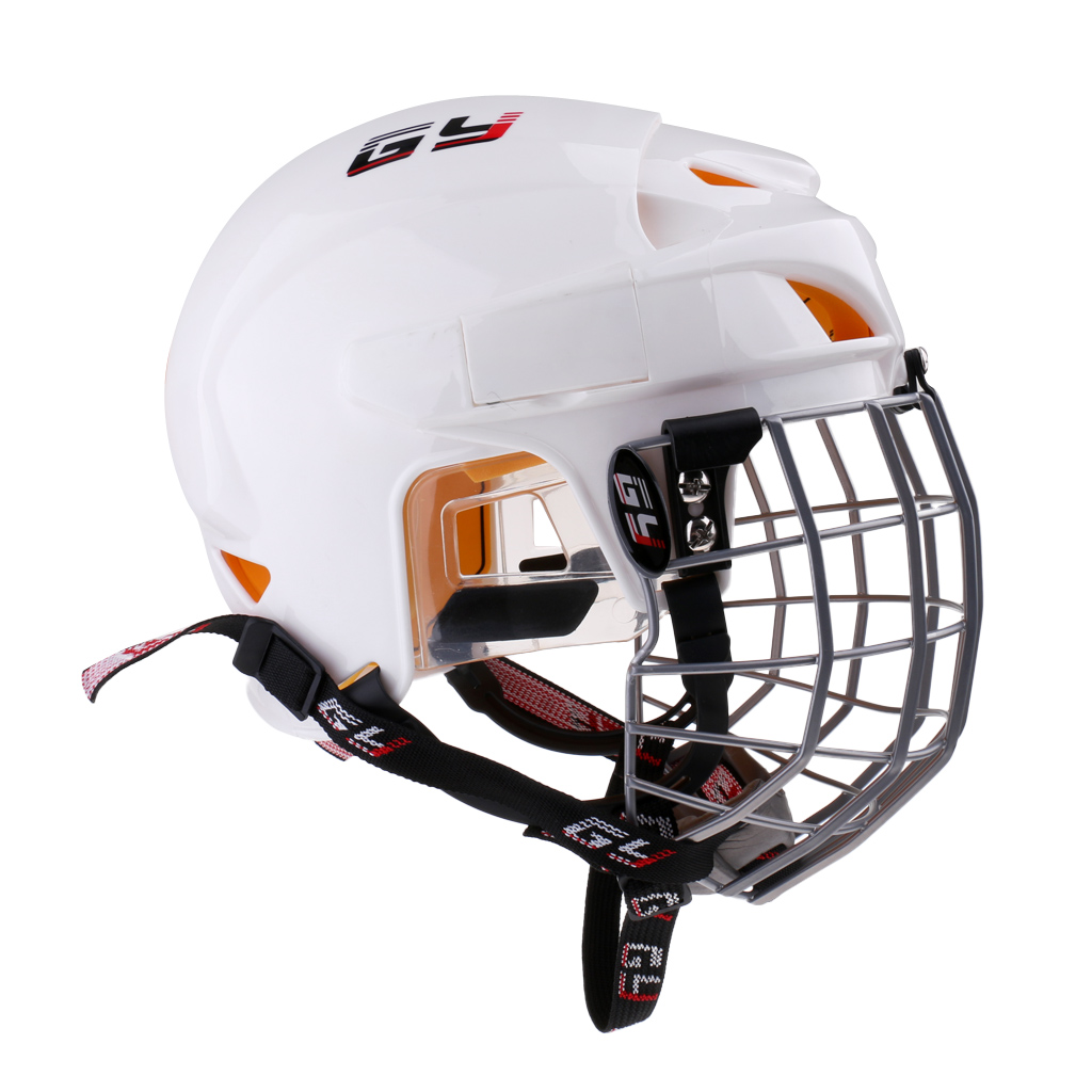 Ice Hockey Helmet Soft EVA Liner with Cage for Player Hockey Face Shield XL/L/M/S/XS Climbing Equipment Accessories термоноски guahoo цвет черный g52 0463cw bk размер 42 46