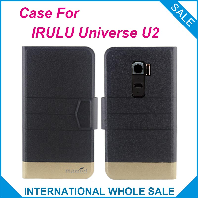 5 Couleurs Chaude! IRULU Univers U2 Cas Mode Affaires fermoir Magnétique Flip En Cuir Étui Exclusif Pour IRULU Univers U2 couverture