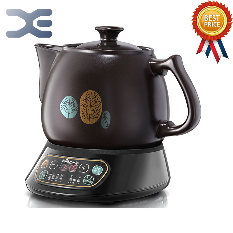 3.5L Kettle Electric Automatic Kettle Decocting Device For Ceramic Health Pot Chinese Medicine Pot automatic decocting pot chinese medicine pot medicine casserole ceramic electronic medicine pot medicine pot electric kettle