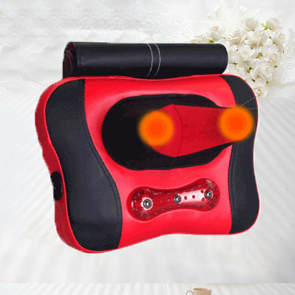 Free Shipping NEW Office Massager Back Lumbar Massage Cushion Neck Pain Relief Massager new design product good neck hammock for neck pain relief neck relief fatigue door handle hanging head neck hammock