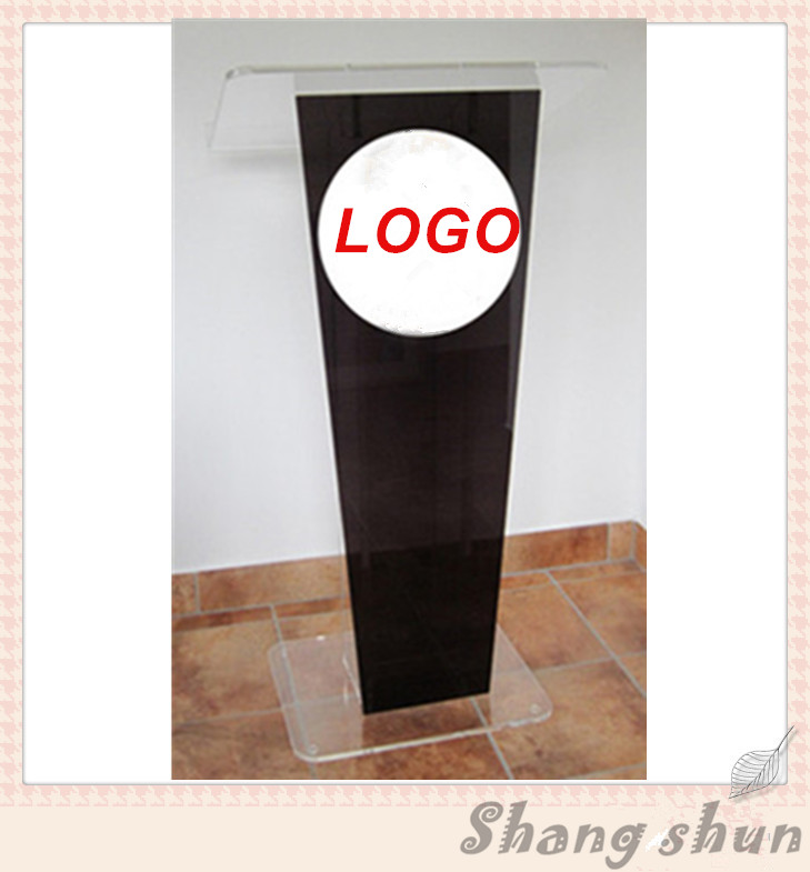 Hot Sale Church Lectern/Podium/Pulpit/Rostrum Acrylic Clear Lectern Acrylic Lectern Acrylic Podium Pulpit free shipping organic glass pulpit church acrylic pulpit of the church