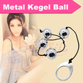 Metal Kegel Ball Vagina Excerciser Vaginal Trainer Love Ball,Steel Ben Wa Balls Pussy Muscle Training Sex Toys Sex Products T026