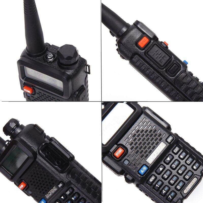 2PCS Baofeng UV-5R Walkie Talkie Portable Radio Station 5W 128CH VHF UHF Dual Band UV5R Two Way Radio for Hunting Ham CB Radio 4