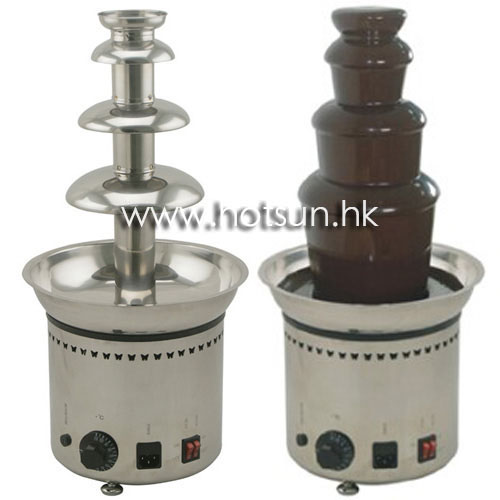 110v 220v Electric Party Hotel Commercial 4 Tiers Chocolate Fountain Fondue Maker