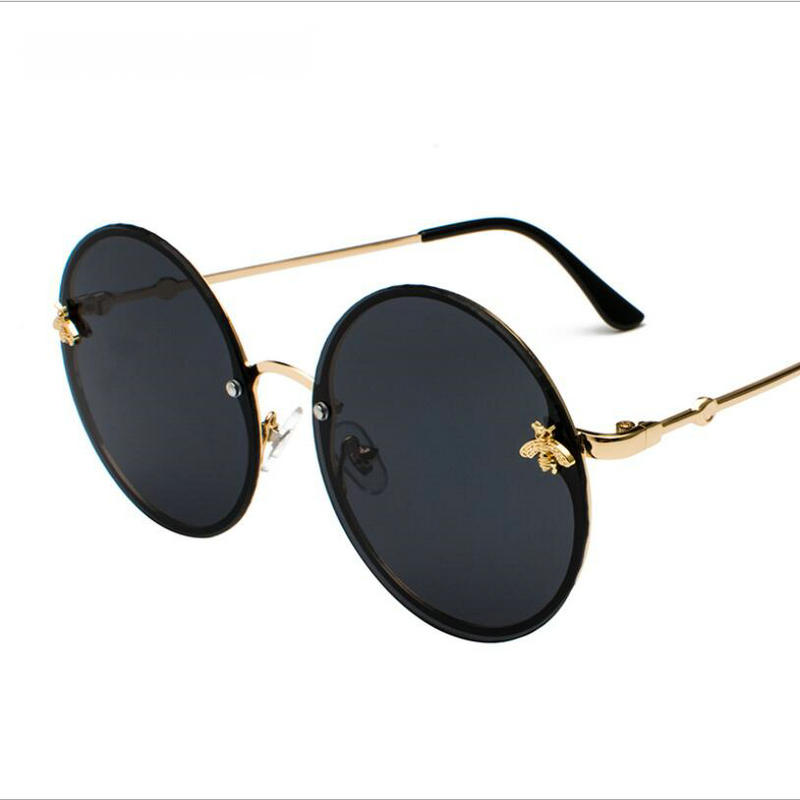 KAPELUS 2018 Round Sunglasses Show A Slim And Well-Matched Pair Of Rimless Sunglasses