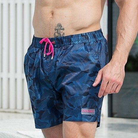 2019 Camouflage Board Shorts Men Swim Shorts Mens Swimwear Swimming Suit Quick Dry Lined Boardshorts Beach Surf Bath Sport Short