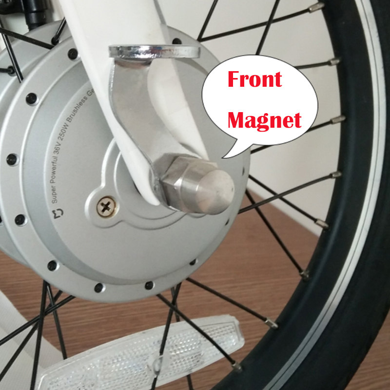 Original Front and Rear Back Fender Steel Magnetic Buckle with Hole for Xiaomi Mijia Qicycle EF1 Electric Bike Folding Bicycle