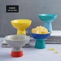 Tall Candy Bowl Icecream Bowl Soup Dessert Fruit Bowls Tableware 1pc Lot